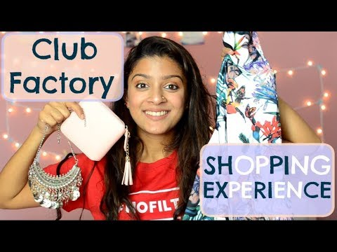 CLUB FACTORY (REVIEW) SHOPPING EXPERIENCE! BEAUTY+FASHION HAUL| MegDIY