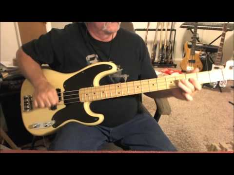The Yardbirds - Shapes Of Things - Bass Cover