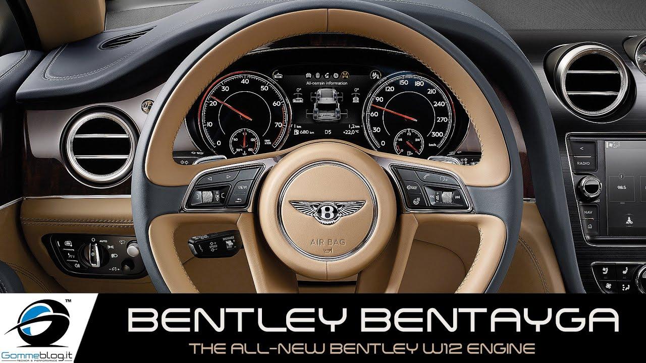 Bentley Bentayga The All New Bentley W12 Engine