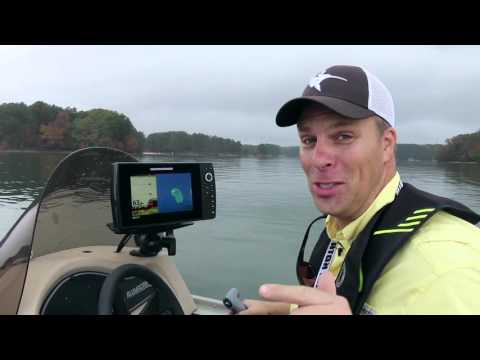 helix 9 and 10 on the water - youtube, Fish Finder