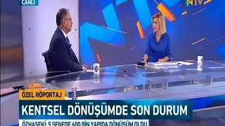 Çevre ve Şehircilik Bakanı Mehmet Özhaseki, NTV Canlı Yayınına Katıldı