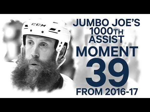 No 39/100: Jumbo Joe picks up milestone 1000th NHL assist