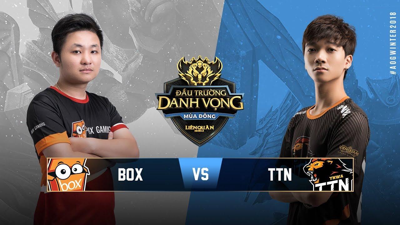 BOX GAMING vs TEAM THAINGUYEN [Vòng 14][24.10.2018] - Đấu Trường Danh Vọng Mùa Đông 2018