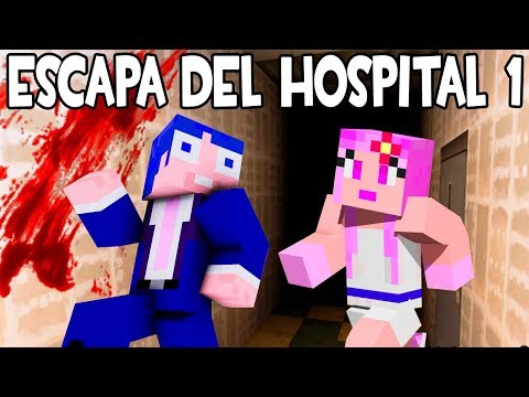 ESCAPA DEL HOSPITAL EN MINECRAFT P.1🏥MAPA DE TERROR