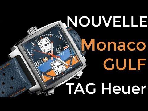 La nouvelle Monaco Gulf de TAG Heuer ! Exclu mondiale avant sa sortie officielle !!