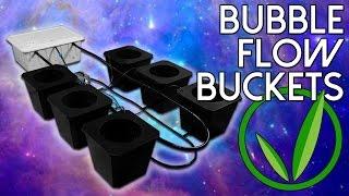 SuperCloset Review | Bubble Flow Buckets | Best Hydroponics System