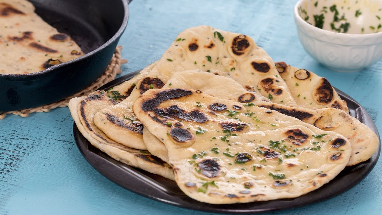 Naan Bread Home Cooking Adventure