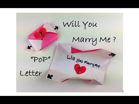 How to Make - Exploding Love Letter