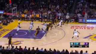 Karl Anthony Towns Gets Fancy! | Wolves vs Lakers | March 24, 2017 NBA Regular Season