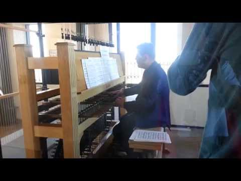 Hoover tower carillon concert--recorded on the Observation Platform.