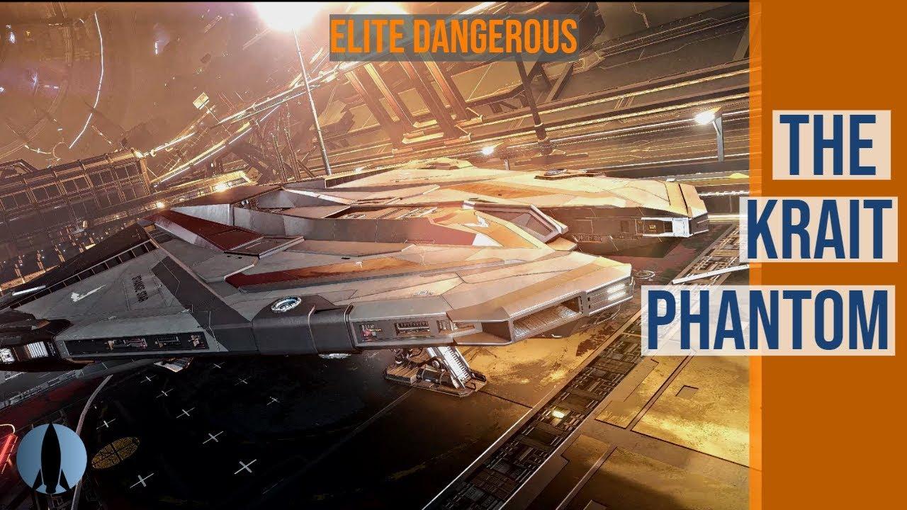 Video - The Krait Phantom (with Scott Manley) Elite Dangerous