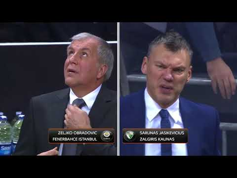 Fenerbache  vs Zalgiris 14.12.2017 - Euroleague
