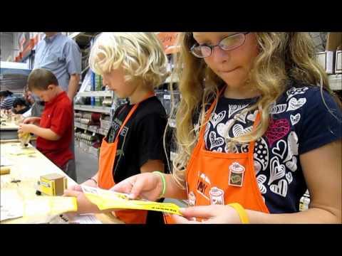 July 2012 Home Depot Kids Workshop