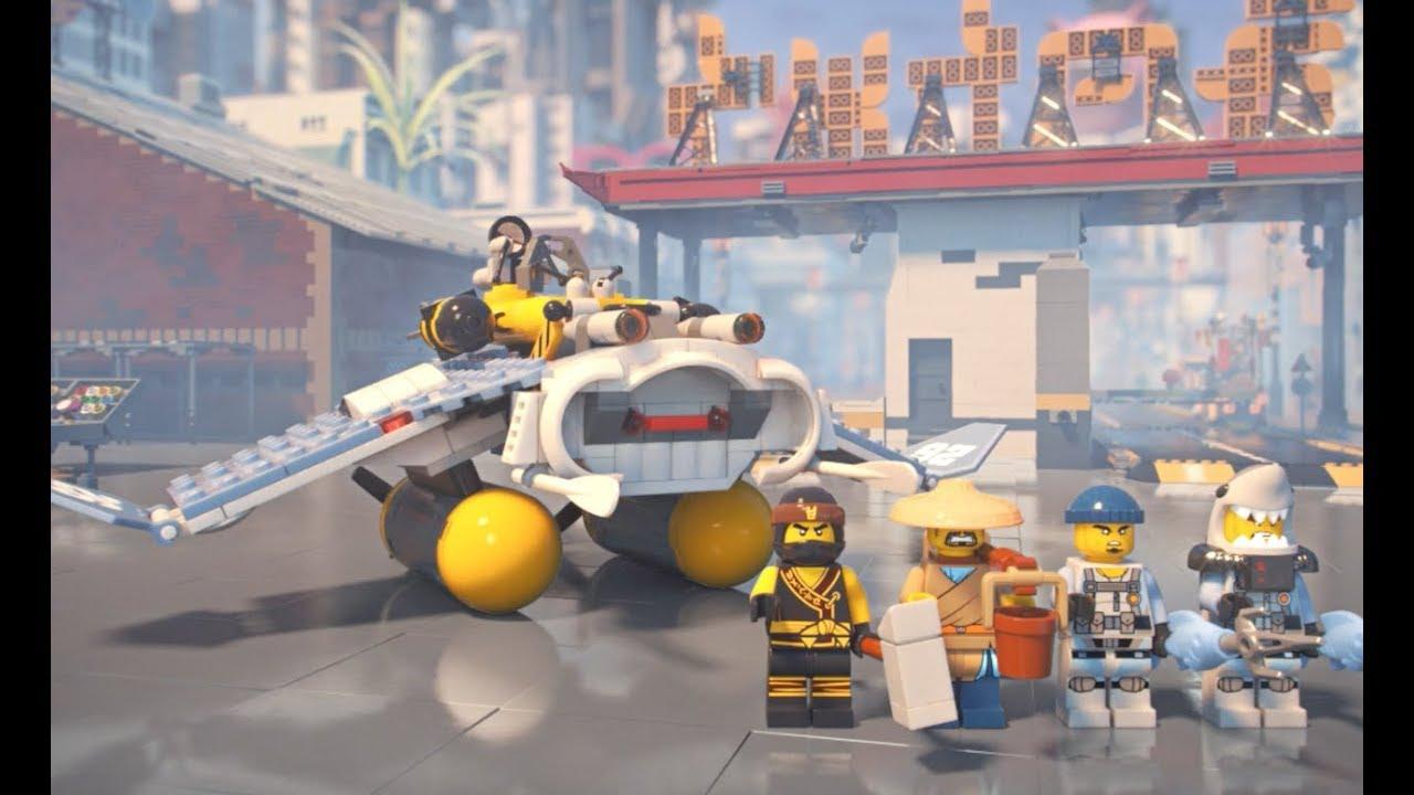 fbccef0da Manta Ray Bomber - LEGO NINJAGO Movie - 70609 - Product Animation ...