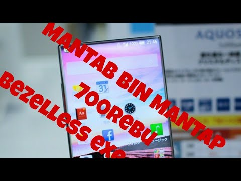 Review Sharp Aquos 305SH - 700Rban bezelless exe jepang