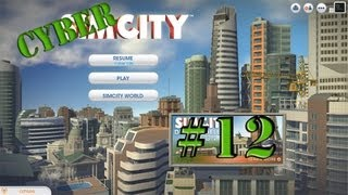 SimCity Cyber City - Episode 12 Vertical-Axis Wind Turbine