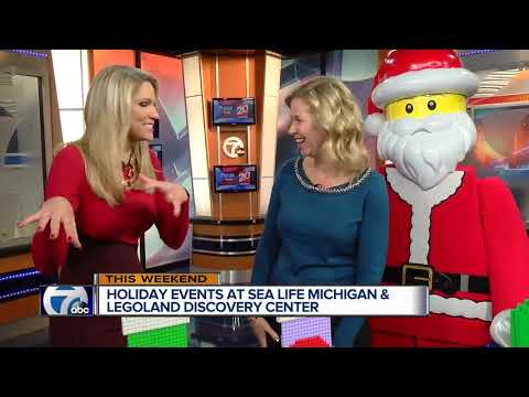 Holiday Events at LEGOLAND and SEA LIFE Michigan