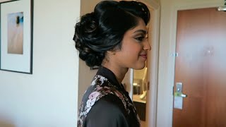 Aberdeen with Vithya | Bridal Job | Tamil hair and make up artist