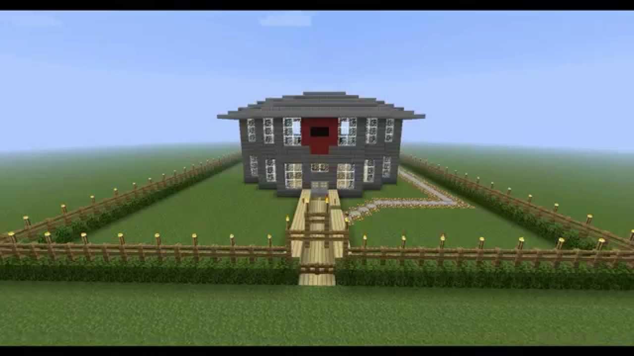 Como construir uma casa legal no minecraft youtube for Construir casas