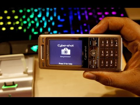 Sony Ericsson K790i Cybershot phone (10 years old) Review