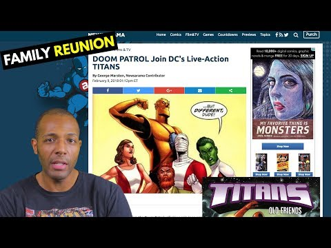 The Doom Patrol's Coming to DC's Titans TV Show! (Thanks to Beast Boy)