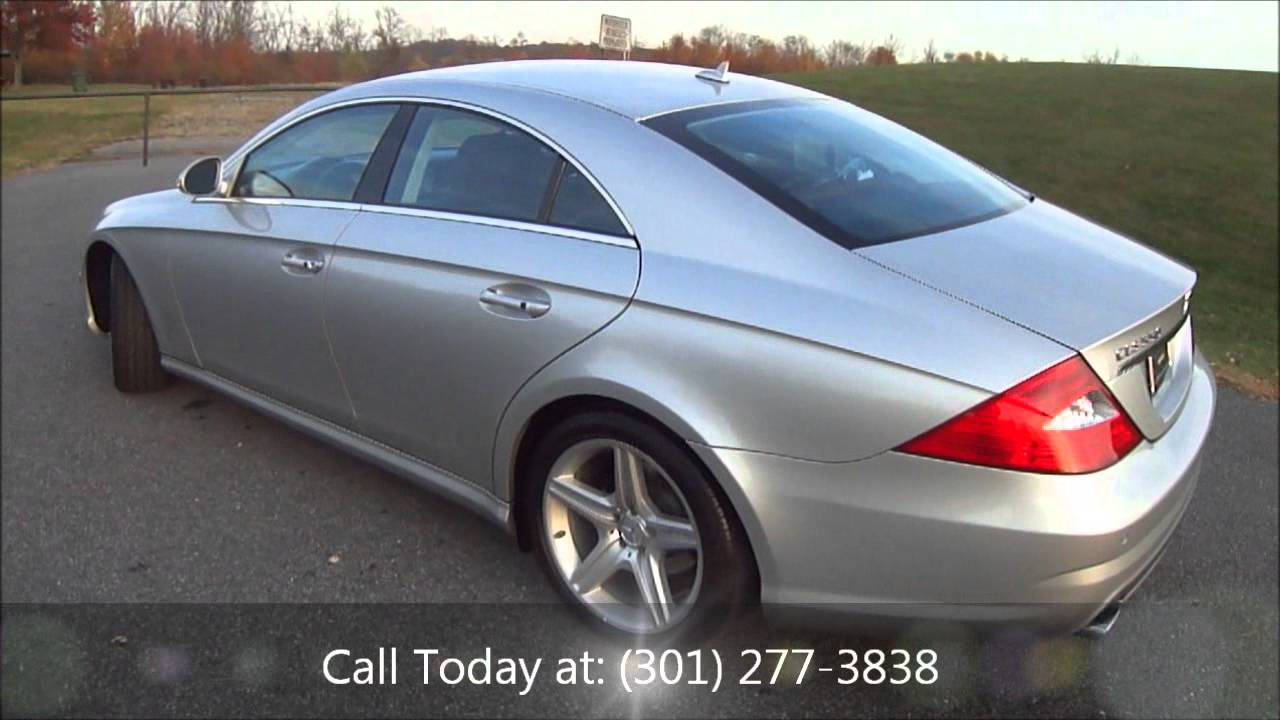 2008 mercedes benz cls class cls550 for sale youtube. Black Bedroom Furniture Sets. Home Design Ideas