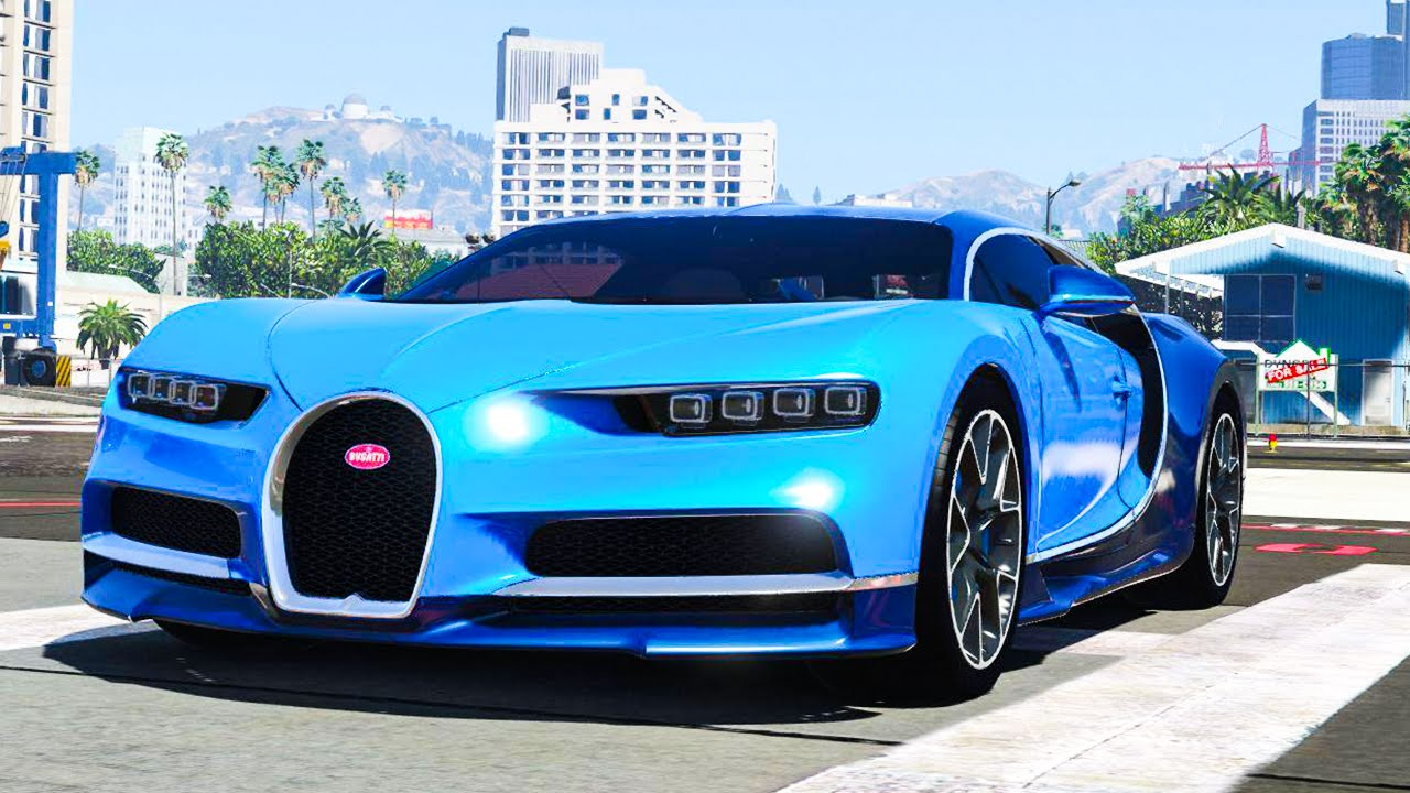bugatti chiron sur gta 5 la voiture la plus rapide du jeu youtube. Black Bedroom Furniture Sets. Home Design Ideas