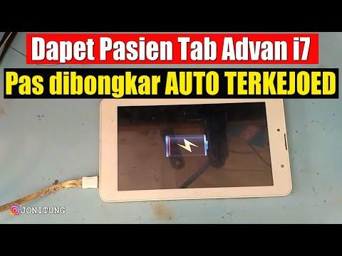 Solusi Tablet Advan tidak mau cas (not charging).