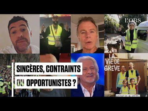 """Sincères, contraints ou opportunistes, ces people qui soutiennent les """"gilets jaunes"""""""