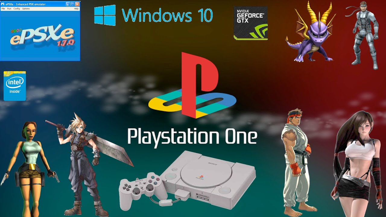 ps1 emulator for windows 10