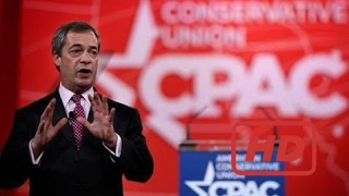 LIVE   Nigel Farage Speaks About Brexit CPAC 2017 Conservative Political Action Conference 2-24-17