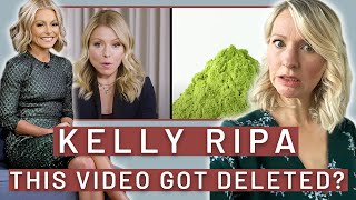 Dietitian Reacts to Everything Kelly Ripa Eats in a Day (Harper's Bazaar *DELETED* Video...Oh Boy)