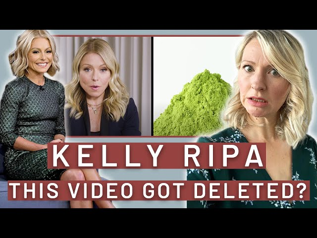 Dietitian Reviews Everything Kelly Ripa Eats in a Day (Harper's Bazaar *DELETED* Video...Oh Boy)