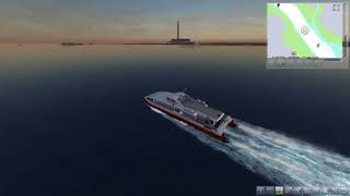 Southampton to West Cowes Ship Simulator 2008