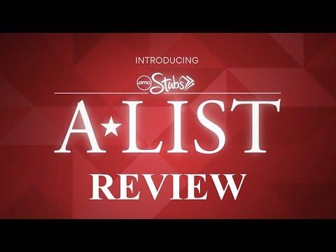 AMC Theatres Stubs A-List Review