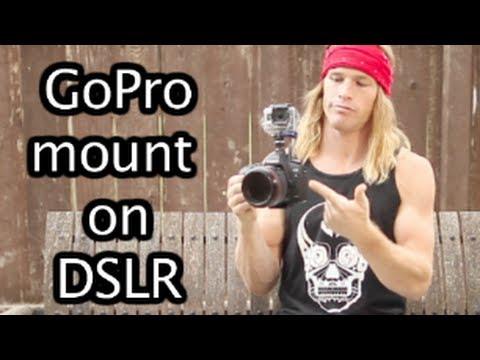 GoPro Mount On DSLR Camera - GoPro Tip #145