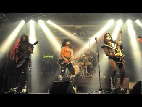 Turns kiss midget cover band not clear