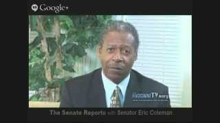 The Senate Reports with Senator Eric Coleman - 1/15/2015