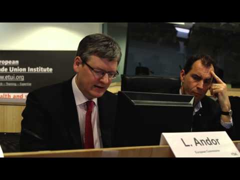 EU Commissioner László Andor on the EU Health and Safety Strategy