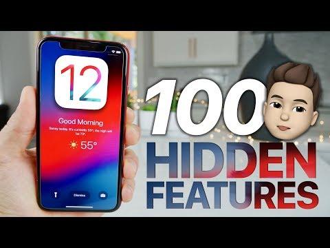 100 NEW iOS 12 Hidden Features & Changes!