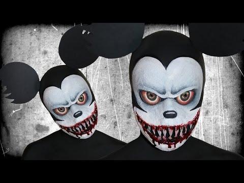 Suicide Mouse.avi - Creepy Pasta - Makeup Tutorial!