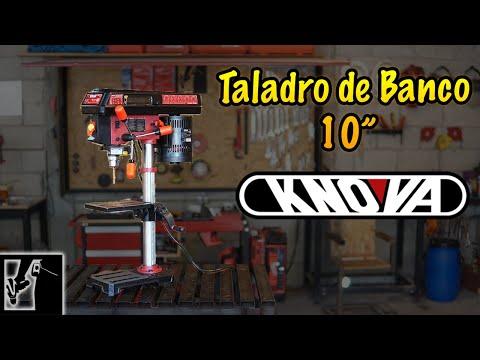 """TALADRO LASER    Taladro de Banco 10"""" - KNOVA    #ReNseñameLaHerramienta"""