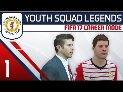 FIFA 17 Career Mode: Crewe Alex #1 - The Stucki Situation! [YOUTH SQUAD LEGENDS]