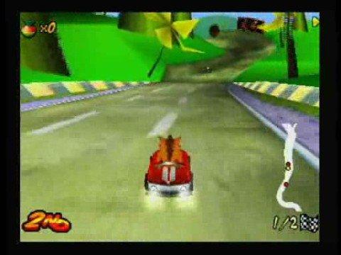 Crash Bandicoot Nitro Kart 3D Nokia S60 3rd