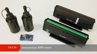 Лазерний БФП Pantum M6500W та комплект для перезаправлення TN-210
