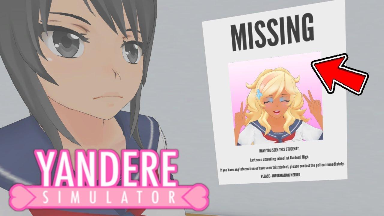 NEW MISSING POSTER? MORE NEW NURSES!? MINDSLAVE CONTROL TARGETS!? - Yandere  Simulator Secret Update