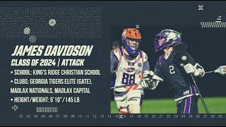 James Davidson '24 Attack | 2020 Summer Highlight Film