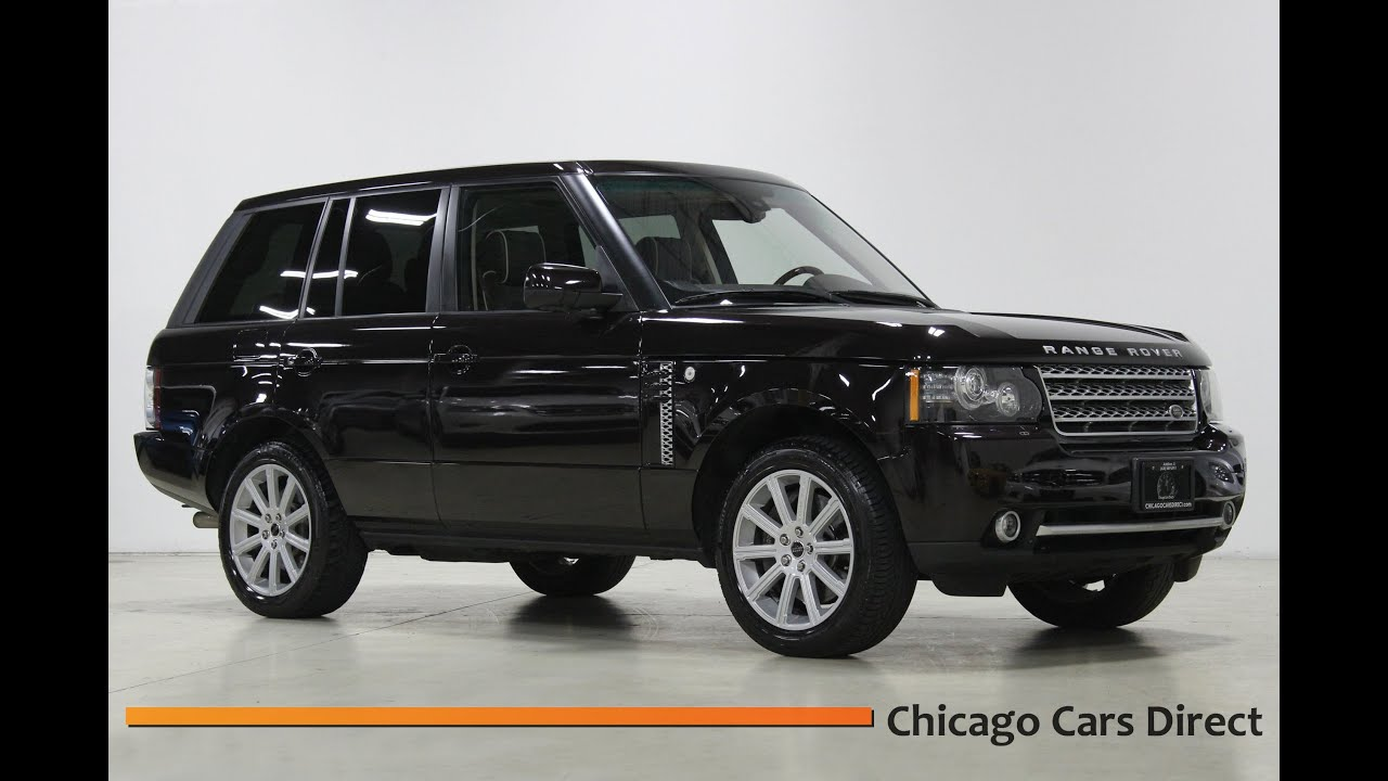 Chicago Cars Direct Presents a 2012 Land Rover Range Rover