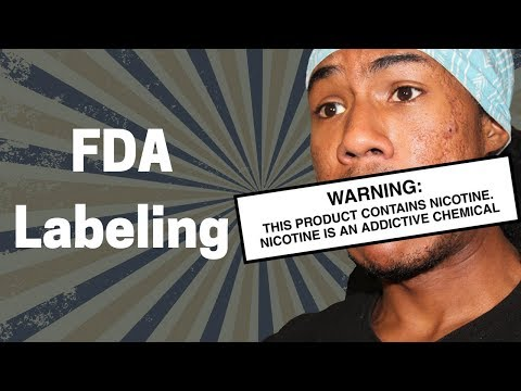 FDA Nicotine Warning Label and Restrictions | Vape 2018