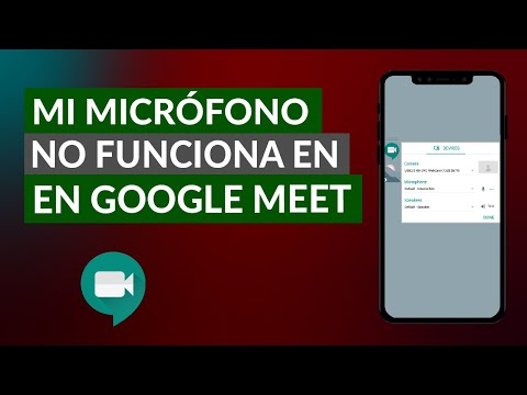 Por qué mi Micrófono NO Funciona o está Bloqueado en Google Meet